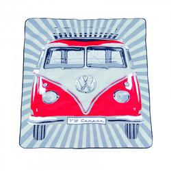 VW Collection Bulli-Picknickdecke rot