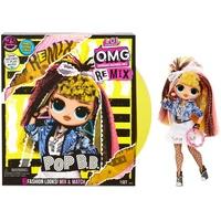 MGA Entertainment L.O.L. Surprise OMG Remix- Doll 3- 80's B.B.