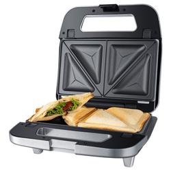 Steba 3-in-1-Sandwichmaker SG 65 Multi Snack Maker - Sandwichmaker - grau/edelstahl, 750 W