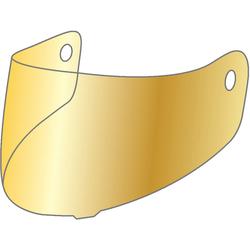 HJC HJ-31 verspiegeltes Visier, gold