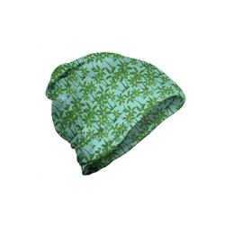 Abakuhaus Beanie Wandern im Freien Insel Kokosnusspalmen Muster