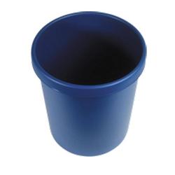 Wischstar Papierkorb Abfalleimer Mülleimer blau