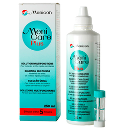 MENI CARE Plus Kontaktlinsenpflegemittel 250 ml