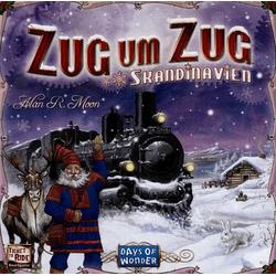 Days of Wonder - Zug um Zug Skandinavien