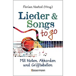 Lieder & Songs to go  Gitarre - Buch