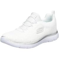 Leopard Spot Sneaker, Weiß Weiß Mesh Silber Besatz WSL, 38 EU