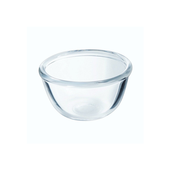 Luminarc Salatschüssel Cocoon, Glas, Schale Salatschale Schüssel 6cm 45ml Glas transparent 6 Stück Ø 6 cm x 3.3 cm
