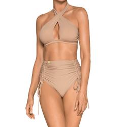 High-Waist Bikini Nude