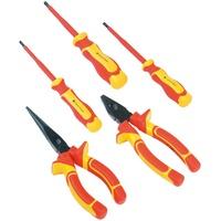 Brüder Mannesmann Werkzeuge Werkzeugset, (5-St), für Elektroarbeiten