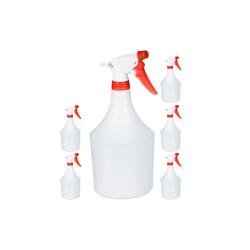 relaxdays Sprühflasche 6x Sprühflasche in Rot