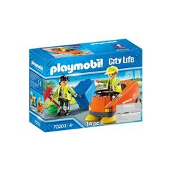 Playmobil® Spielwelt PLAYMOBIL® 70203 - City Life - Kehrmaschine