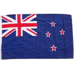 XXL Flagge Neuseeland 250 x 150 cm Fahne mit 3 Ösen 100g/m² Stoffgewicht