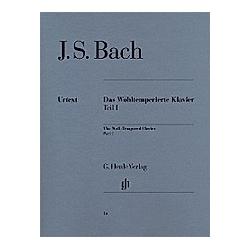 Das Wohltemperierte Klavier  mit Fingersätzen: 1 Bach  Johann Sebastian - Das Wohltemperierte Klavier Teil I BWV 846-869. Johann Sebastian Bach  - Buch
