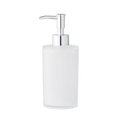 Bloomingville Seifenspender Seifenspender weiß, Kunststoff, für Flüssigseife, Badezimmeraccessoires