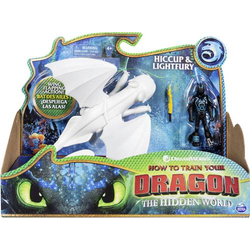Dragons - Movie Line - Dragon & Vikings - Tagschatten und Hicks (Solid), Actionfiguren Drache & Wiki