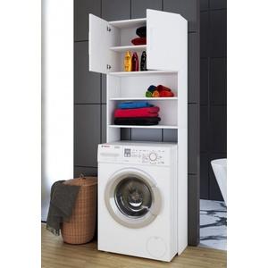 Waschmaschinenüberbau Jutas weiß VCM MORGEN 911986 (BHT 64x190x25 cm) VCM Morgenthaler GmbH