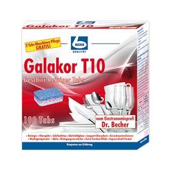 Dr. Becher Galakor Geschirr-Reiniger-Tabs T10 100 Stück