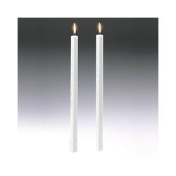 Amabiente Kerzenhalter Kerze CLASSIC weiß 19cm - 4er Set