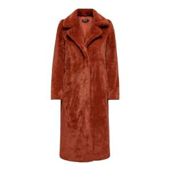 ONLY Kunstfell Mantel Damen Rot Female L