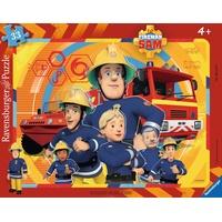 Ravensburger Rahmenpuzzle Sam der Feuerwehrmann (06114)