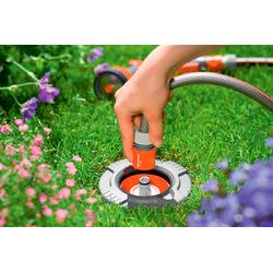 GARDENA Bewässerungssystem Sprinklersystem, 08250-20, Wassersteckdose (1/2 Zoll) grau Bewässerungssysteme Bewässerung Garten Balkon