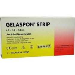 GELASPON Strip 4x1x1 cm Streifen 5 St