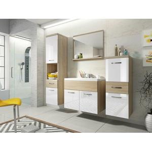 Badmöbel-Set Emma Badezimmer Möbel mit Waschbecken Farbauswahl Modern Stil