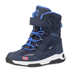 Trollkids Lofoten Winter Boots XT Winterstiefel blau 33,0 EU