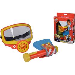 SIMBA Spielzeug-Sauerstoffmaske Feuerwehrmann Sam, Feuerwehr Sauerstoffmaske, (Set, 2-tlg), mit Spielzeug-Axt