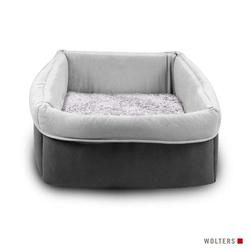 Wolters Eco-Well Hunde- & Katzenkorb grau/hellgrau, Größe: S