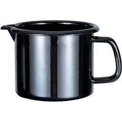 GSW Milchtopf Profi-Black-Star, Stahl-Emaille, (1-tlg), 1,5 Liter