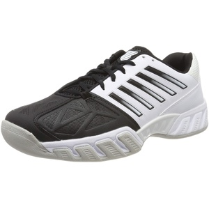 K-Swiss Performance Herren Bigshot Light 3 Carpet Tennisschuhe, Weiß (White/Black/Gull Gray 176-M), 44 EU