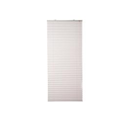 Plissee Siena, K-HOME, verdunkelnd, ohne Bohren grau 70 cm x 130 cm
