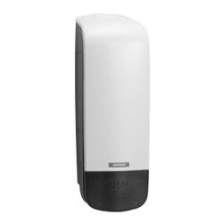 KATRIN Inclusive System Seifenspender, 1000 ml, Handseifenspender aus Kunststoff, Farbe: weiß