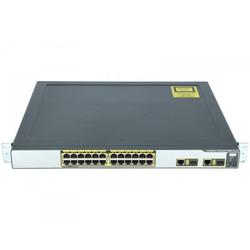 Cisco - WS-CE500-24PC - 24 10/100 (24PoE) and 2 10/100/1000BT or SFP uplinks, GUI sw