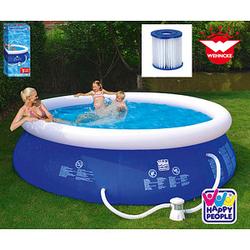 HAPPY PEOPLE® Quick-Up-Pool   3681,0 l   300,0 x 76,0 cm