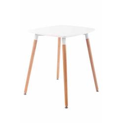 CLP Gartentisch Viborg, mit MDF Tischplatte weiß