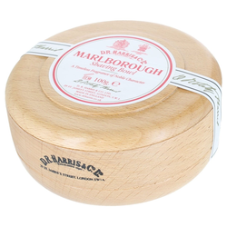 D.R. Harris Marlborough Shaving Soap in Beech Bowl