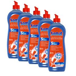 Somat Klarspüler Geschirrreiniger 5x750 ml Spülmaschinenreiniger Reinigung