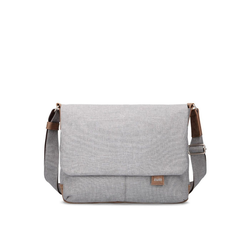 Zwei Laptoptasche Olli OT13 Umhängetasche 33 cm weiß
