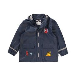 Playshoes Regenjacke PLAYSHOES Kinder Regenjacke Feuerwehr für Jungen 116