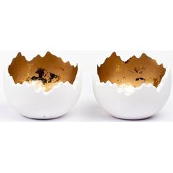 Fabriano Kerzenhalter Lume (Set, 2 Stück) Ø 14 cm x 10,5 cm