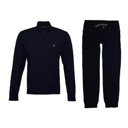 Emporio Armani Pyjama Logo und Reißverschluss blau XL (56/58)