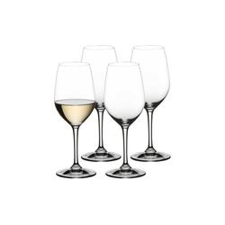 Nachtmann Weißweinglas ViVino Weißweinglas Weinkelch 4er Set, Kristallglas