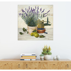 Posterlounge Wandbild, Provenzalische Auswahl 100 cm x 100 cm