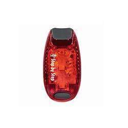 Hama LED Sicherheits Klemmleuchte rot, Klippverschluss