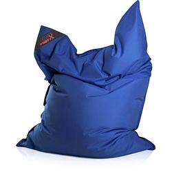 Magma Heimtex Sitzsack Big Foot, für Indoor und Outdoor blau