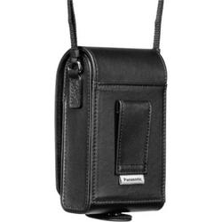 Panasonic DMW-PHS84XEK Ledertasche verti Kameratasche Schwarz