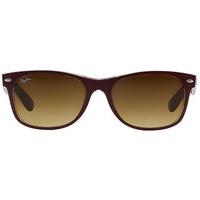 52mm bordeaux-transparent / brown gradient