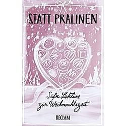 Statt Pralinen - Buch